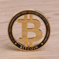 ビットコイン プレミアム 中空コイン