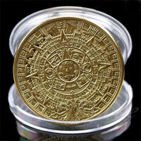 アステカマヤ暦 ゴールドコイン