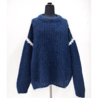 Mohair Mock Neck P/O < Naivy × floss silk of Date >