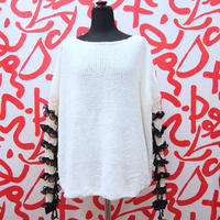 Frilled Lace Sleeves < Ivory >