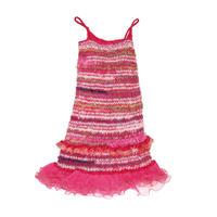 Ethnic Ruffled Dress Camisole