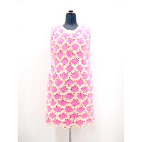Jelly Dot One Piece < U-neck / Pink >