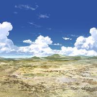 【イラスト背景】【合作】時差入道雲03_15
