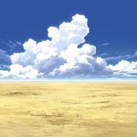 【イラスト背景】【合作】時差入道雲04_03
