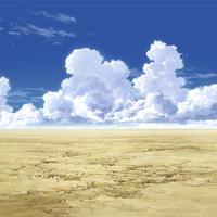 【イラスト背景】【合作】時差入道雲01_06
