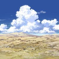 【イラスト背景】【合作】時差入道雲02_12