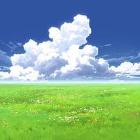 【イラスト背景】【合作】時差入道雲04_04
