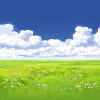 【イラスト背景】【合作】時差入道雲05_07