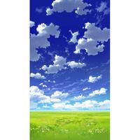 【イラスト背景】【合作】青空_縦PAN用02_07