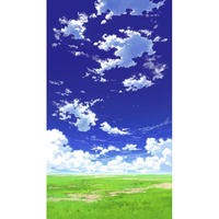 【イラスト背景】【合作】青空_縦PAN用01_05