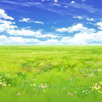 【イラスト背景】【合作】時差雲02_07
