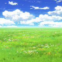 【イラスト背景】【合作】時差雲03_04
