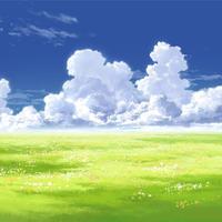 【イラスト背景】【合作】時差入道雲01_10