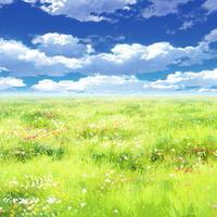 【イラスト背景】【合作】時差雲05_13