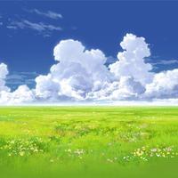 【イラスト背景】【合作】時差入道雲01_07