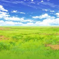 【イラスト背景】【合作】時差雲02_08
