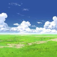 【イラスト背景】【合作】時差入道雲03_05