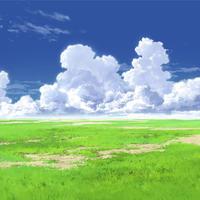 【イラスト背景】【合作】時差入道雲01_05
