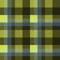 黄色チェック柄06