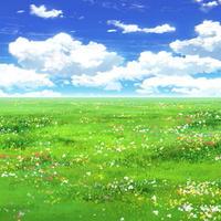 【イラスト背景】【合作】時差雲03_01