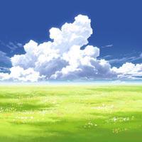 【イラスト背景】【合作】時差入道雲04_10