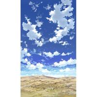 【イラスト背景】【合作】青空_縦PAN用04_12