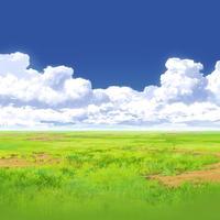 【イラスト背景】【合作】時差入道雲05_08