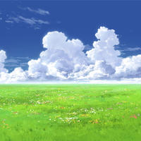 【イラスト背景】【合作】時差入道雲01_04
