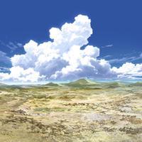 【イラスト背景】【合作】時差入道雲04_15
