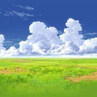 【イラスト背景】【合作】時差入道雲01_08