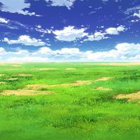 【イラスト背景】【合作】時差雲01_02