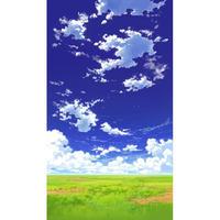 【イラスト背景】【合作】青空_縦PAN用01_08