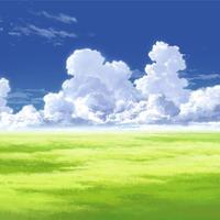 【イラスト背景】【合作】時差入道雲01_11
