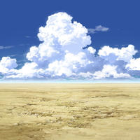 【イラスト背景】【合作】時差入道雲02_06