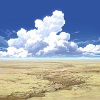 【イラスト背景】【合作】時差入道雲04_09