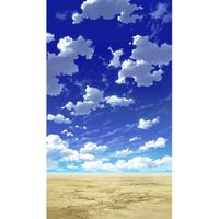 【イラスト背景】【合作】青空_縦PAN用02_06