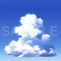 素材_入道雲背景03