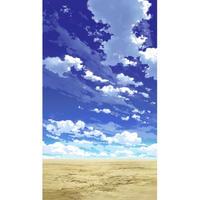 【イラスト背景】【合作】青空_縦PAN用03_06