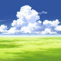 【イラスト背景】【合作】時差入道雲02_11