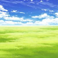 【イラスト背景】【合作】時差雲02_11