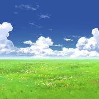 【イラスト背景】【合作】時差入道雲03_04