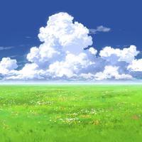 【イラスト背景】【合作】時差入道雲02_04
