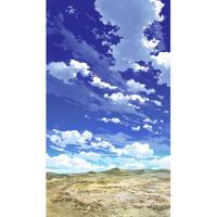 【イラスト背景】【合作】青空_縦PAN用03_15