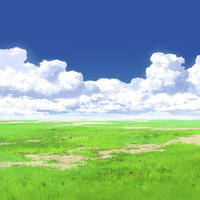 【イラスト背景】【合作】時差入道雲05_05
