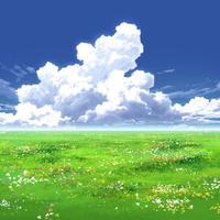 【イラスト背景】【合作】時差入道雲04_01