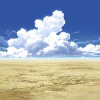 【イラスト背景】【合作】時差入道雲04_06