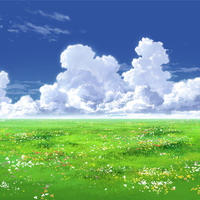 【イラスト背景】【合作】時差入道雲01_01
