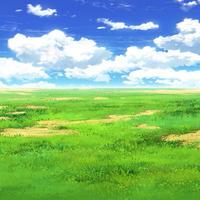 【イラスト背景】【合作】時差雲03_02