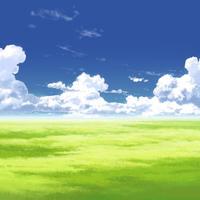【イラスト背景】【合作】時差入道雲03_11
