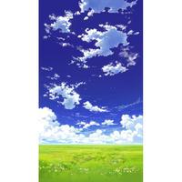 【イラスト背景】【合作】青空_縦PAN用01_07